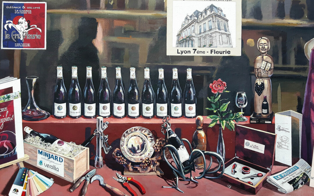 Wine and Landscape: an art exhibition in Fleurie, Beaujolais