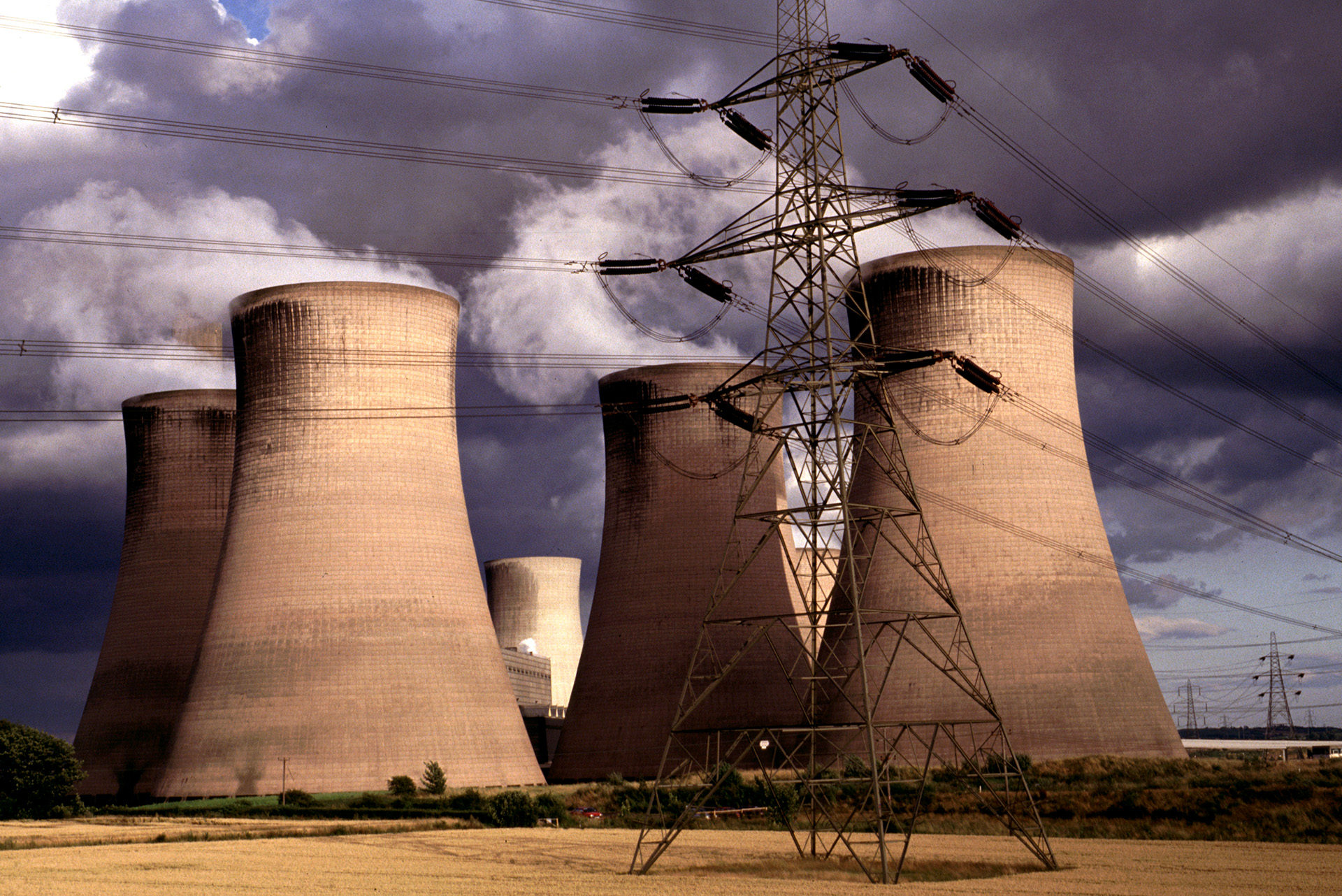 A power station in a wealthy European country (UK); it is these countries that have the resources, and duty, to take a lead on mitigating climate change, not the countries trying to bring clean energy to the world's poorest people.