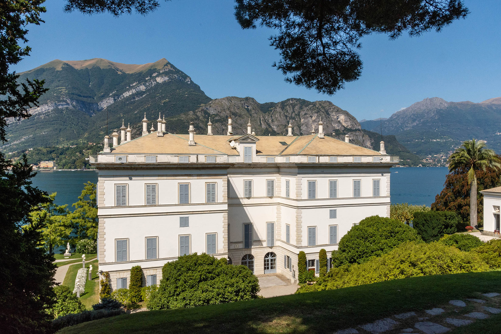 The Villa Melzi, Bellagio, former home of Ludovico Melzi d'Eril and aristocrat and benefactor to the region