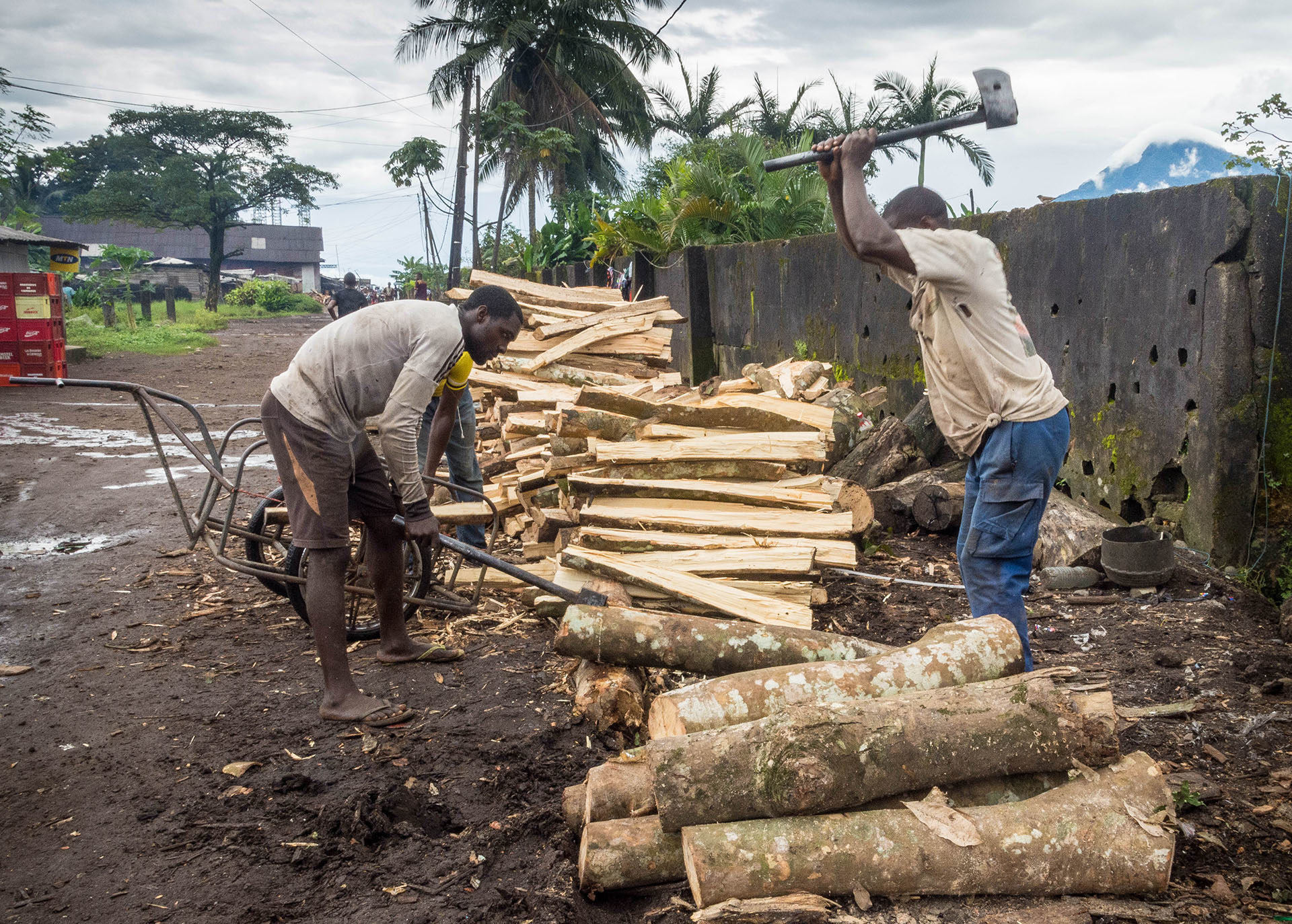 Only 30-40% of wood fuel is harvested renewably, and solid fuels do not provide for clean cooking