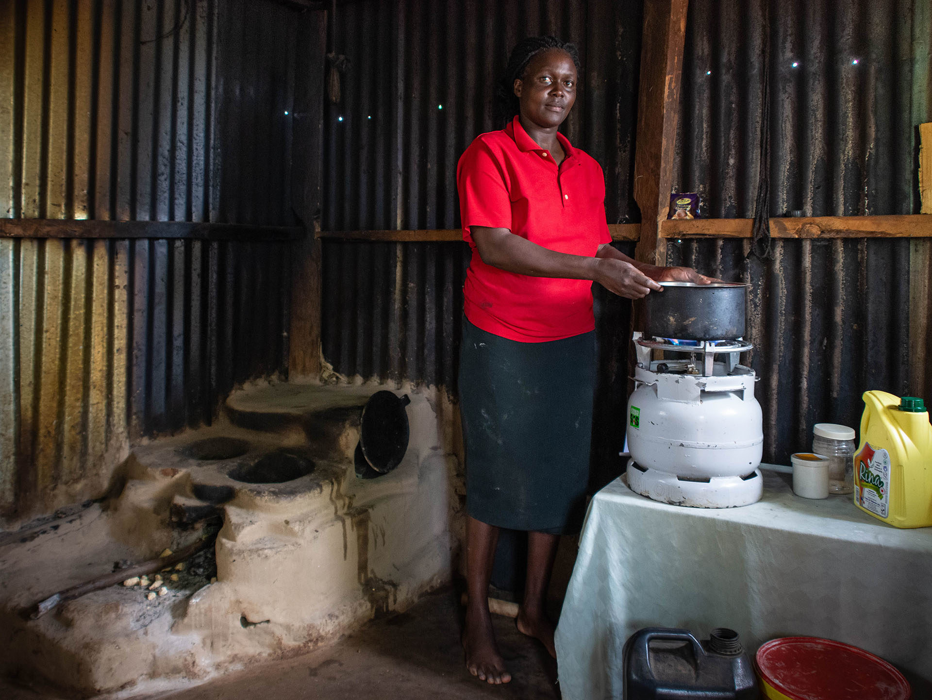 LPG provides one of the most efficient and convenient fuels for clean cooking