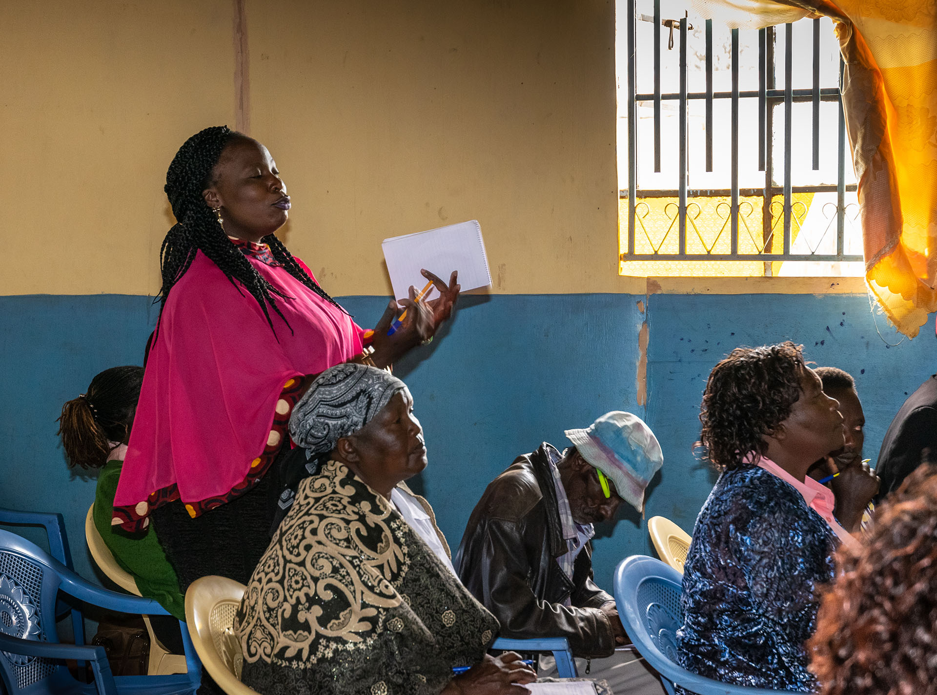 Hearing the perspectives of community health workers during the training on household air pollution