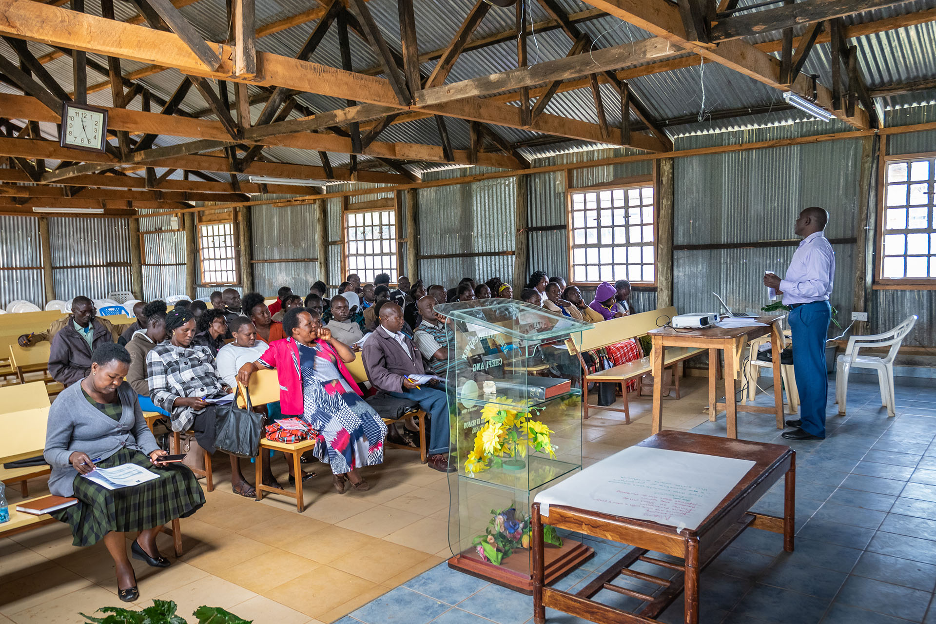 Training Kenyan community health workers to support the transition to clean household energy