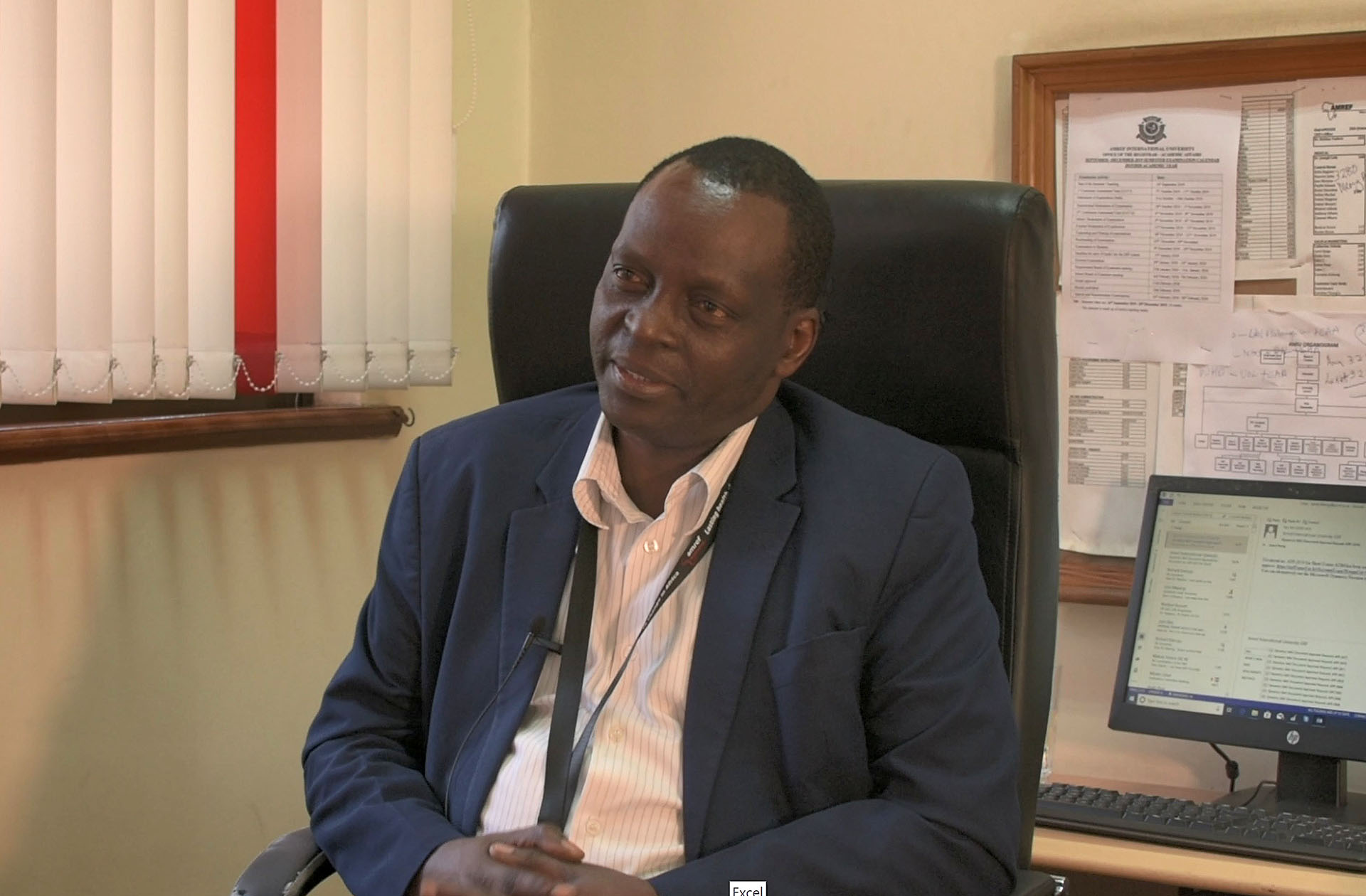 Dr James Mwitari, Dean of the School of Public Health at AMREF International University, Nairobi, who is leading the development and scaling up of the household energy training programme across the country.