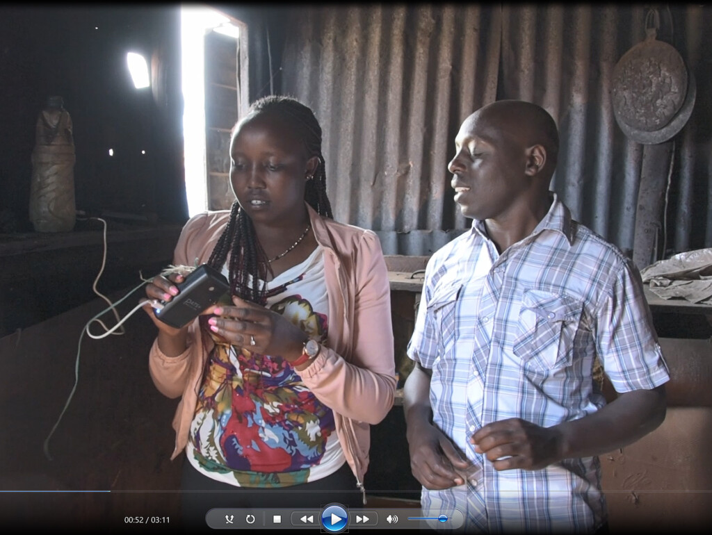 Training Community Health Volunteer in HAP measurement, Kenya
