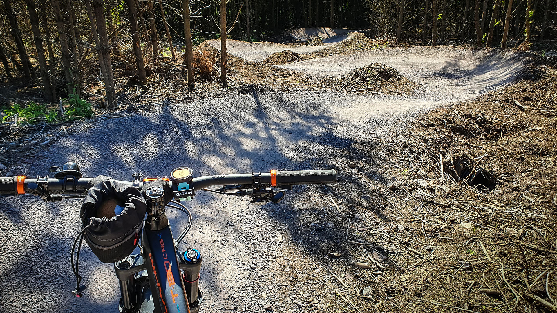 The new Blue Trail recently completed at Cannock Chase has flowing berms which will test your ability to get the right line
